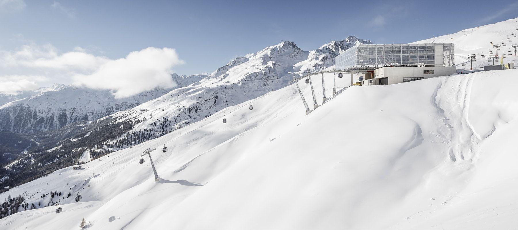 Sölden Giggijochbahn Bergstation