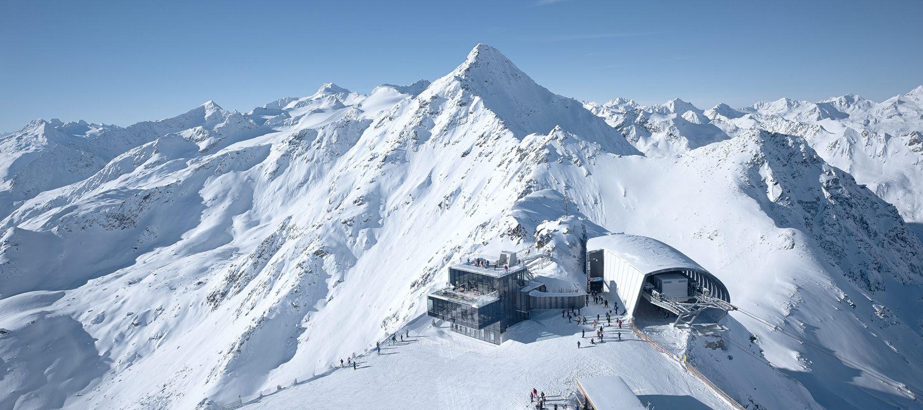Sölden Skigebiet Gaislachkogel Ice Q