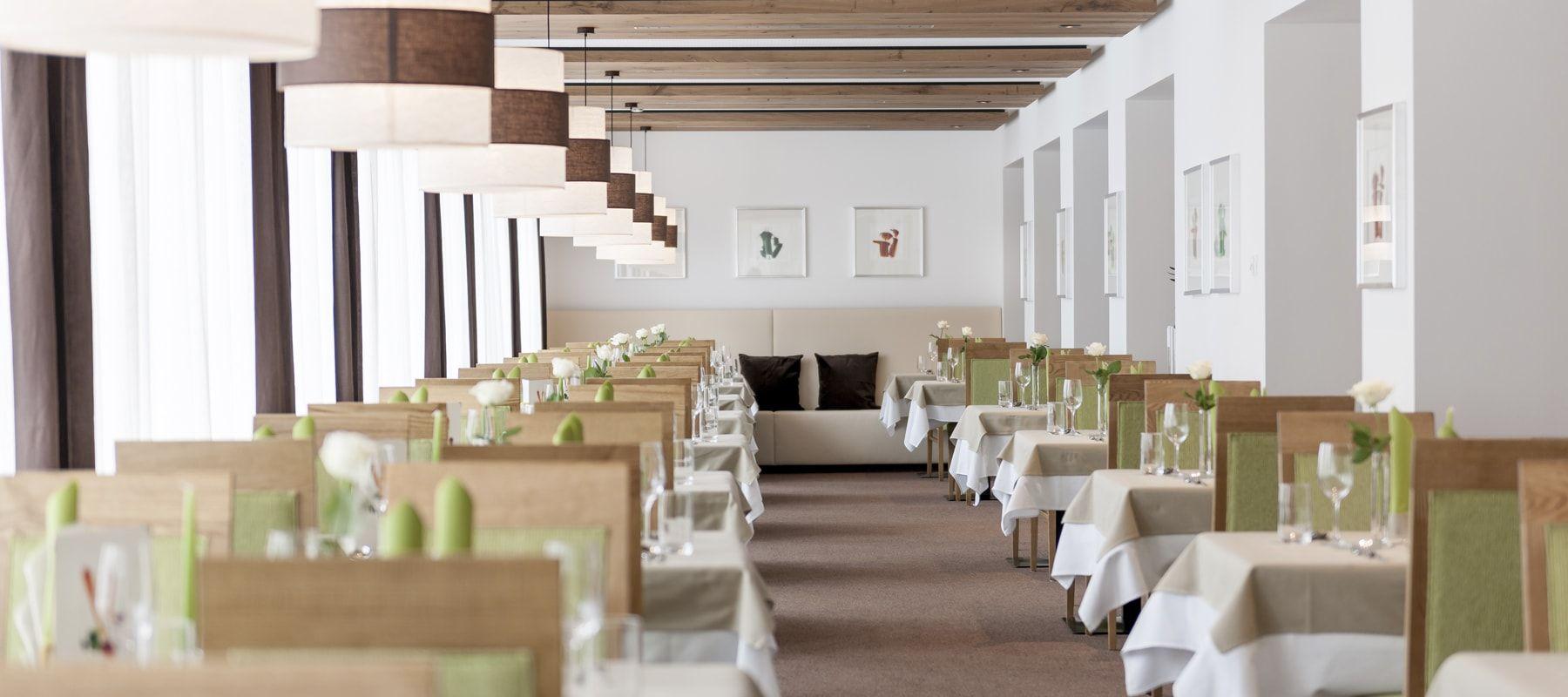 Hotel Tyrolerhof Speisesaal