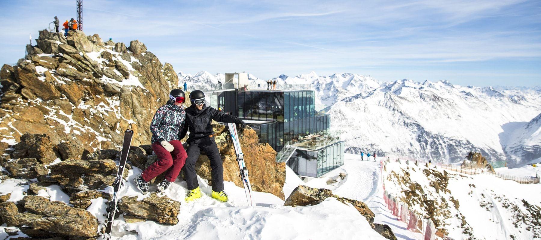 Sölden Skigebiet Gaislachkogel