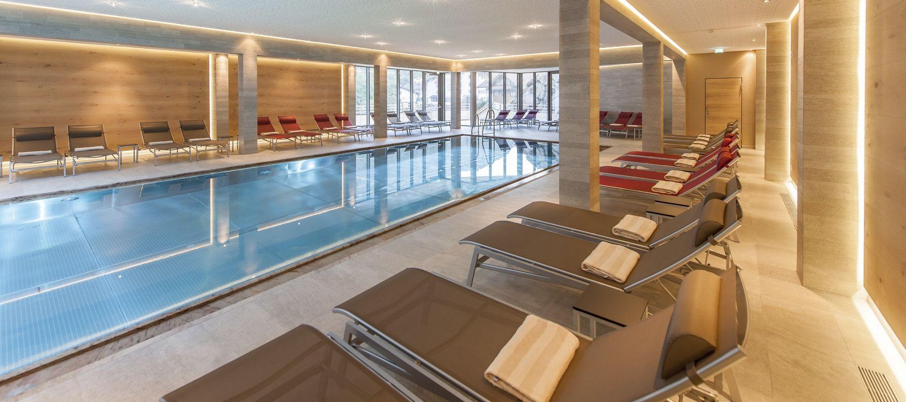 Hotel Tyrolerhof Wellnessbereich