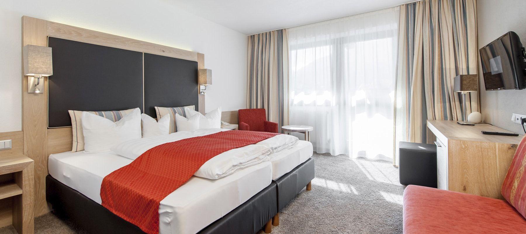 Hotel Tyrolerhof Dreibettzimmer