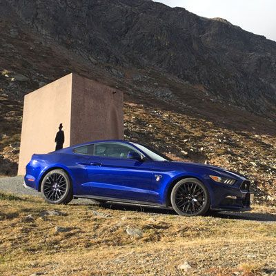Ford Mustang Alpentour